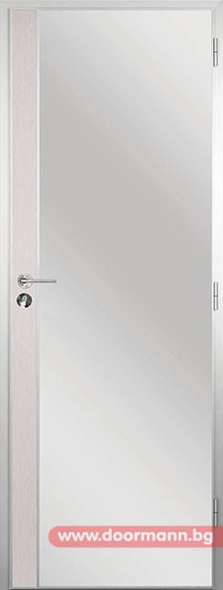 Алуминиева врата за баня - Gama, цвят Перла